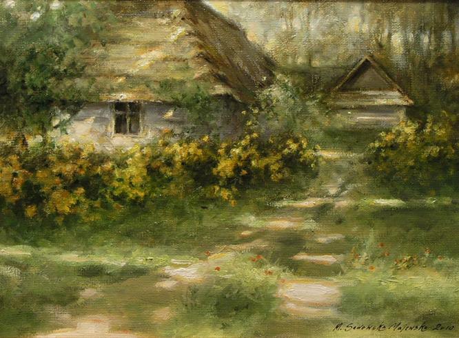 obrazy olejne pejzaze krajobrazy - Małgorzata Sadowska ...